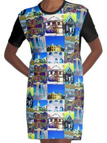 brendastownsvilletiles Graphic T-Shirt Dress
