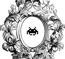 Rococo Invader by Maya Pixelskaya