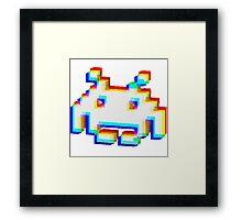 Corrupt Invader Framed Print