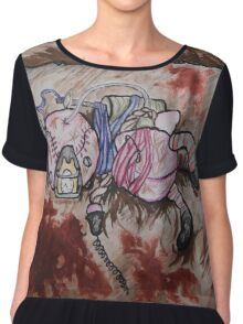 bio shock doll Chiffon Top