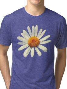 Single leucanthemum. Tri-blend T-Shirt