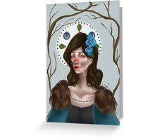 Lyanna Stark Greeting Card