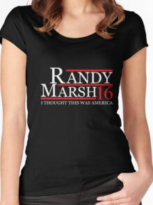 RANDY MARSH 2016 for President T-Shirt Women's Fitted Scoop T-Shirt