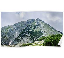 Beautiful view of the Pirin Mountain, Bulgaria Poster