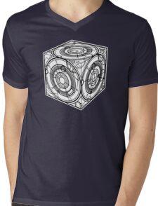 "TARDIS ""Siege Mod"" - Doctor Who Mens V-Neck T-Shirt"
