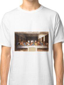 The Last Supper by Leonardo Da Vinci Classic T-Shirt