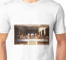 The Last Supper by Leonardo Da Vinci Unisex T-Shirt