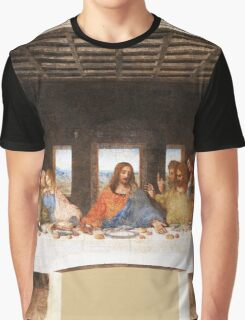 The Last Supper by Leonardo Da Vinci Graphic T-Shirt