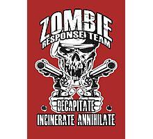 Zombie Response Team Photographic Print