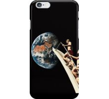 leaping to the ground iPhone Case/Skin