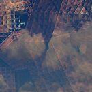 mechanical sky city by tinncity
