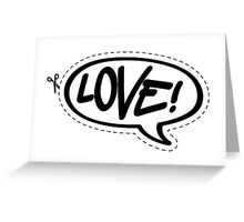 Yo!Cards - Love! Greeting Card