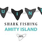 Amity Island Shark Fishing by Bristol Noir