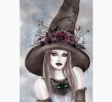 Autumn berry witch fantasy art by Renee Lavoie Unisex T-Shirt