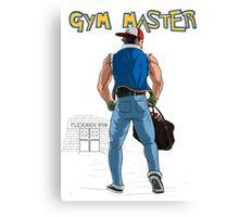 Gym Master Canvas Print