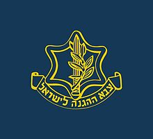 IDF Israel Defense Forces - with Symbol by crouchingpixel