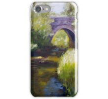 Bridge over a Little River iPhone Case/Skin