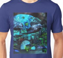 Dolphin's Under The Sea  2 Unisex T-Shirt