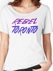 Rebel Toronto Women's Relaxed Fit T-Shirt