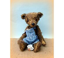 Handmade bears from Teddy Bear Orphans - Lawrence Photographic Print