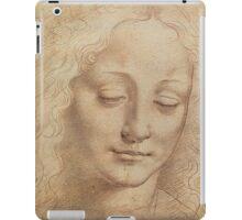 Portrait of a woman by Leonardo Da Vinci iPad Case/Skin