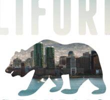 California Skyline 2  Sticker