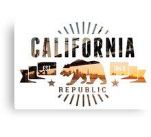 California Skyline Canvas Print