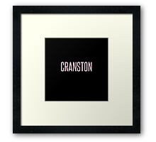 Bryan Cranston  Framed Print