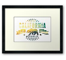 California Railway Framed Print