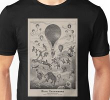 0062 ballooning Henri Lachambre aéronaute constructeur breveté Paris 24 Passage des Favorites 24 Paris Fievoir dele Unisex T-Shirt