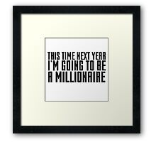 Only Fools And Horses Millionaire Quote Funny Cool TV Show British Framed Print