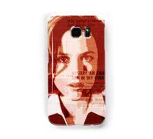 Dana Scully - The X-Files Samsung Galaxy Case/Skin
