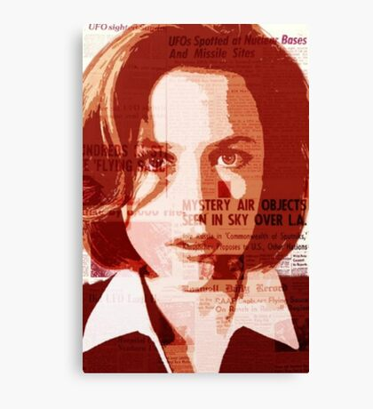 Dana Scully - The X-Files Canvas Print