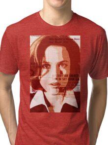 Dana Scully - The X-Files Tri-blend T-Shirt