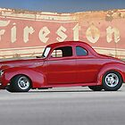 1940 Ford Deluxe Coupe 1 by DaveKoontz