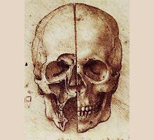 Sketch of a Skull by Leonardo Da Vinci Unisex T-Shirt