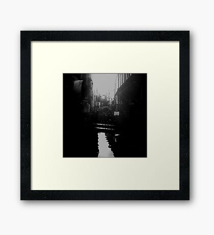 skinny bridge Framed Print