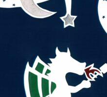 Dragon Roasting Marshmallows Sticker