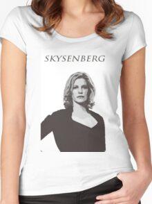 Skyler White - Skysenberg Women's Fitted Scoop T-Shirt