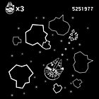 Millennium Falcon Asteroids by Alex Pawlicki