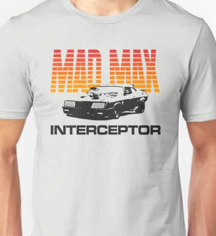MAD MAX - INTERCEPTOR (SUNSET) Unisex T-Shirt