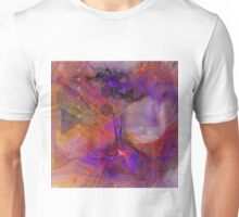 Vibrant Echoes (Square Version) - By John Robert Beck Unisex T-Shirt