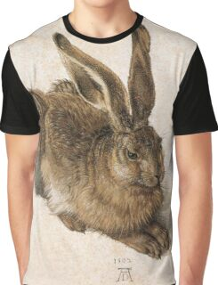Young Hare by Albrecht Durer Graphic T-Shirt