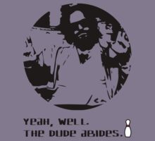 The Dude Abides. Kids Tee