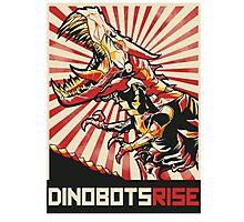 Dinobots Rise! Photographic Print