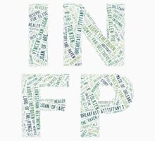 INFP Word Cloud One Piece - Long Sleeve