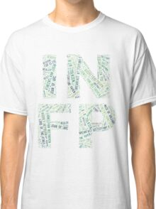 INFP Word Cloud Classic T-Shirt