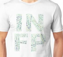 INFP Word Cloud Unisex T-Shirt