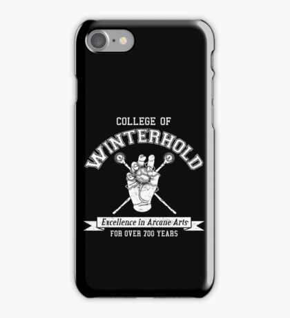 Skyrim - College of Winterhold iPhone Case/Skin