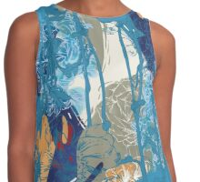 Floral Jungle 01 Contrast Tank
